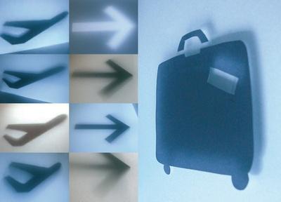 Ruedi Baur, Orientierungssystem für den Flughafen Wien