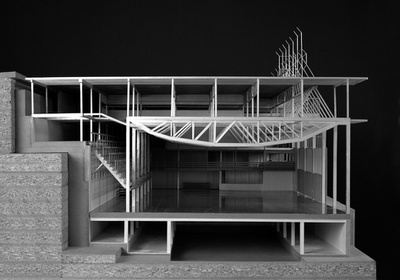 Raummodell des Gimnasio Maravillas, Madrid