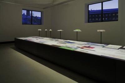 """Blick in die Ausstellung """"Hans Gangoly: Im Dialog"""""""