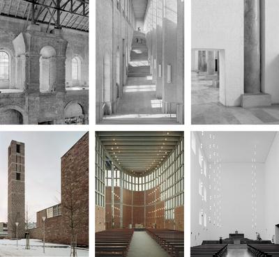6 Projekte von Hans Döllgast und Rudolf Schwarz