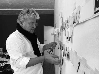 Lars Müller an der Wand