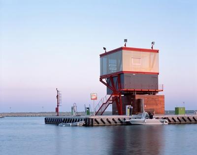 PRM2, 2008, Kontrollturm, Marina di Ragusa, Bildnachweis: © Hélène Binet