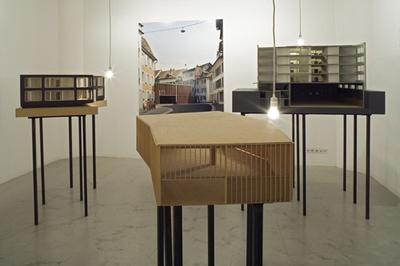 """Blick in die Ausstellung """"Miller & Maranta: Werkschau"""""""