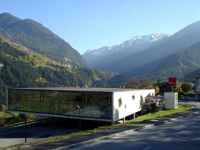 MPREIS Wenns, Wenns im Pitztal (Architektur: Rainer Köberl mit Astrid Tschapeller, Innsbruck)