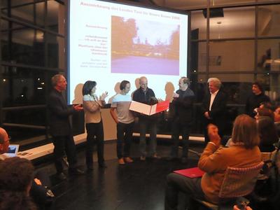 """Preisverleihung """"Auszeichnung des Landes Tirol für Neues Bauen 2008"""""""