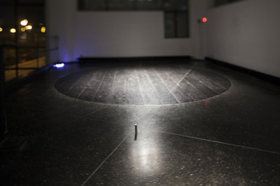 """Blick in die Ausstellung """"Rens Veltman: Infra und Ultra oder Colonise the Dark"""""""