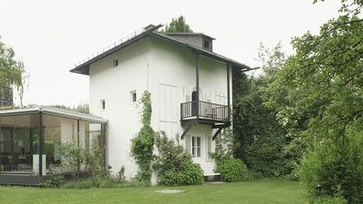 Lois Welzenbacher, Haus Welzenbacher, Absam, 1945