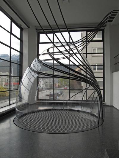 """""""In situ"""" (Ellipsoid: Ursula Klein; Splines: Valentine Troi, Stefan Strappler), Bildnachweis: © aut"""