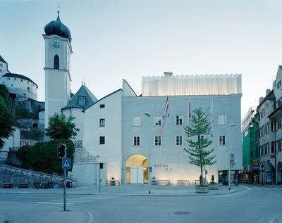 Rathaus und Stadtplatz Kufstein, Tirol, Bildnachweis: ©Lukas Schaller