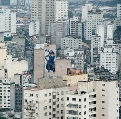 """Naomi goes São Paulo"", 2005"