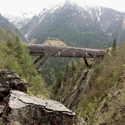 "Brücke über den ""Großen Gröben"""