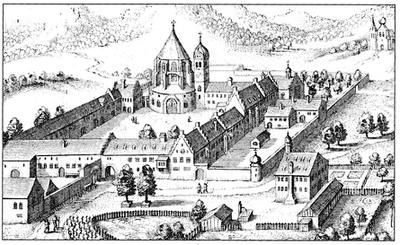 Kloster Ettal, Matthaeus Merian, um 1640