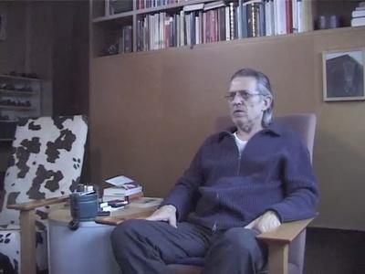 """Rudolf Wäger im Gespräch anlässlich der Ausstellung """"konstantmodern"""", 2009"""