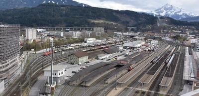 Überblick Hauptbahnhofareal