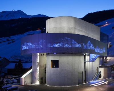 Giggijochbahn Architektur: Obermoser arch-omo ZT GmbH Lichtplanung und Umsetzung: Bartenbach lighting solutions