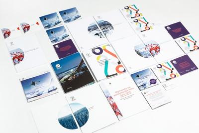 Visuelle Identität für die Olympische Spiele in Oslo 2022