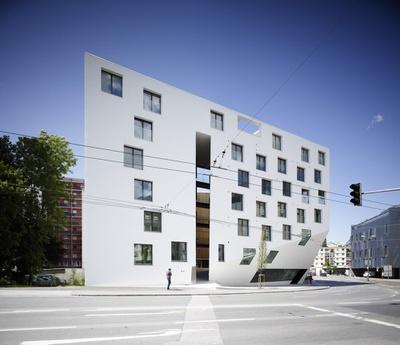 Wohn- und Bürohaus Höttinger Au, Innsbruck