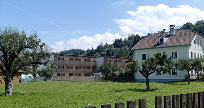 Wohnanlage und Vereinsheim, Amras
