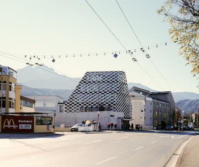 BTV und MPREIS Mitterweg, Innsbruck