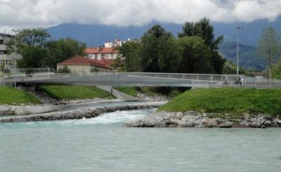Tiflisbrücke an der Sillmündung, Innsbruck