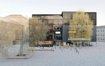Visualisierung Haus der Musik, Innsbruck