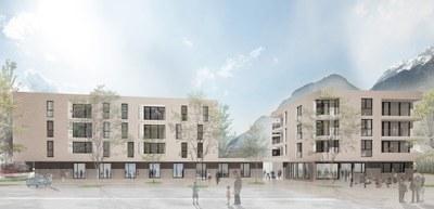 Visualisierung Haus im Leben, Innsbruck