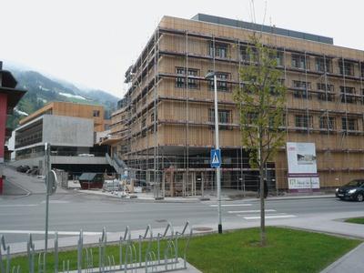"""Baustelle Dorfzentrum """"Am Schmiedeplatz"""", Kaltenbach"""