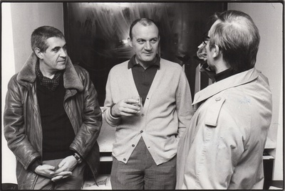 Peter Noever, Walter Pichler, Rudolf Goessl, 1982